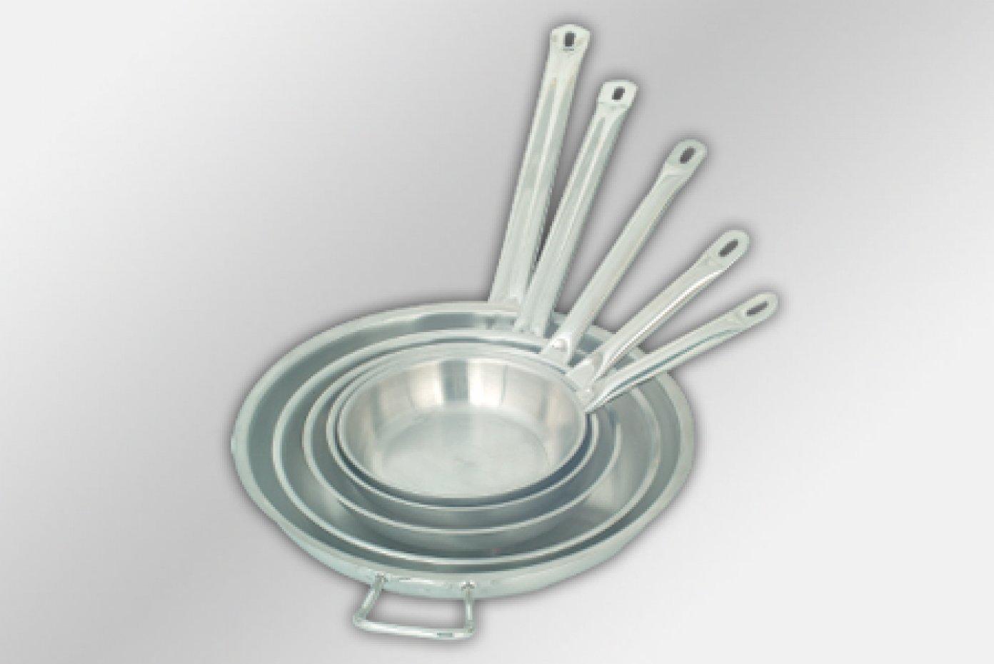 Frying pan double base